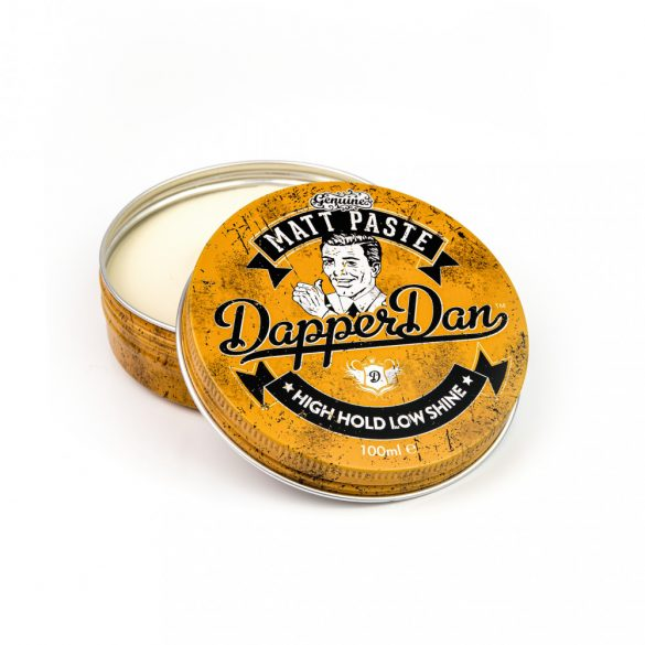 Dapper Dan matt, erős paste hajwax 100ml
