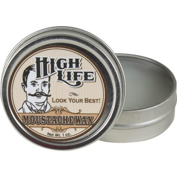 High Life Moustache Wax - bajusz wax 28g