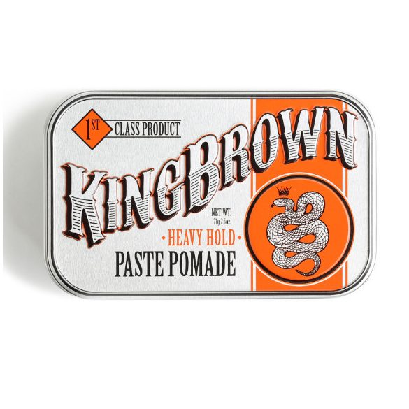 King Brown Heavy Hold Paste Pomade - rendkívül erős hajwax 71g