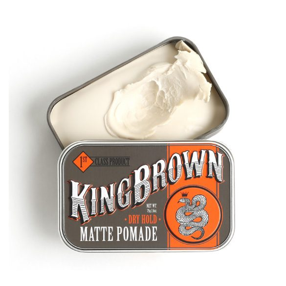 King Brown Matte Pomádé, hajwax 75g