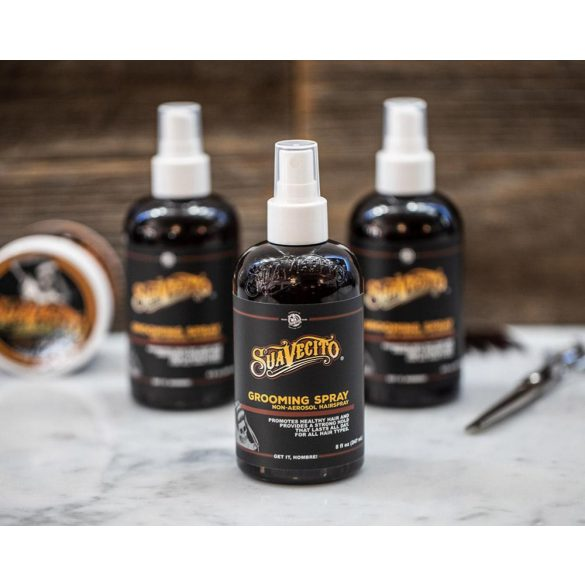 Suavecito Grooming Spray - 237ml - made in USA