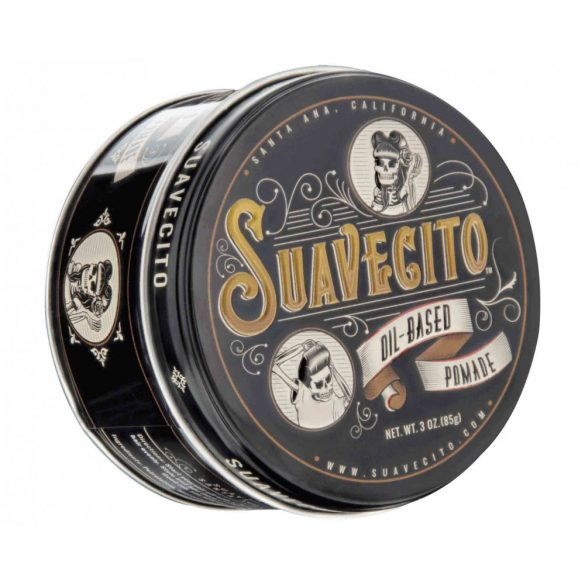Suavecito Oil Based Pomade - 85g - Made in USA